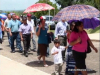 Patrick Menzies and Church Leaders Back in Belmopan for Protest