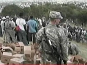 haiti soldiers assistance