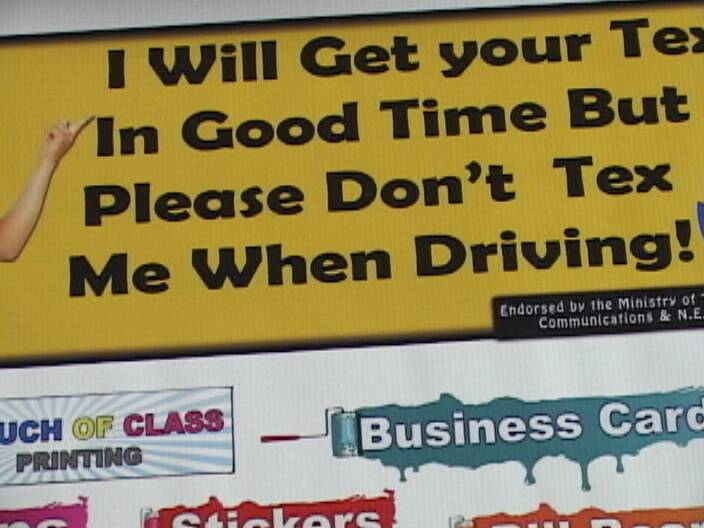 Texting And Driving Quotes Fair Another Takes Up The Antitexting While Driving Campaign