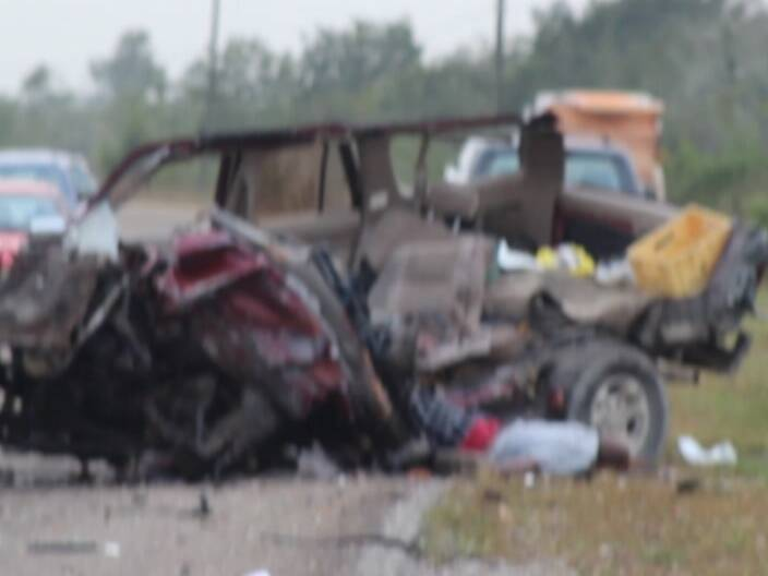 One dead as SUV and bus collide on highway | Channel5Belize com