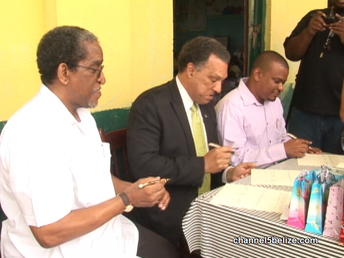 Education Stakeholders Sign Tripartite Agreement Channel5belize