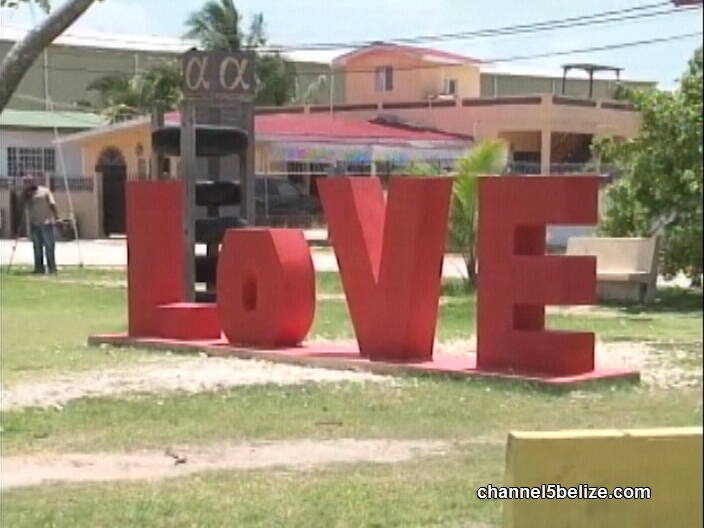 53564cd3f6 Feel the 'LOVE' in Belama Phase Two Park | Channel5Belize.com