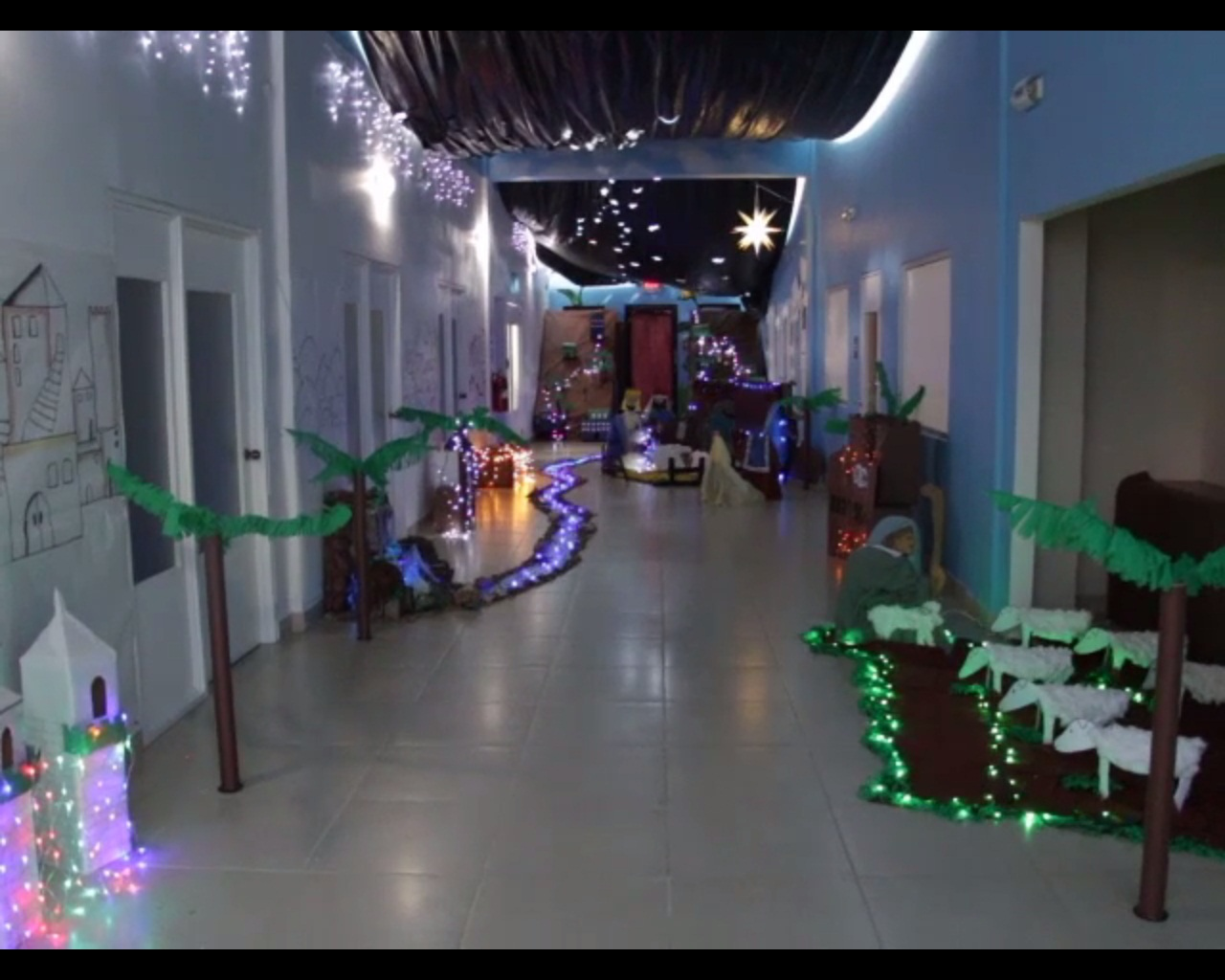 K h m h s nicu wins christmas decorating competition for H h christmas decorations
