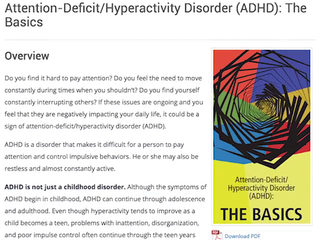 Not All Attention Problems Are Adhd >> Understanding Adhd A Neurological Condition Channel5belize Com